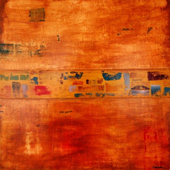 Vandenberg VI, tan abstract, organic