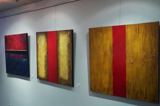Abstract Paintings by Jon Freeman Art
